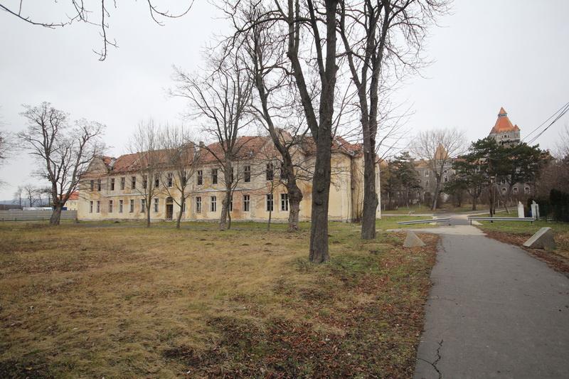Hajmáskér, egykorvolt tüzériskola és szovjet laktanya#8