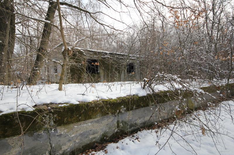 Grányitok a hóban: téli túra a császári szovjet laktanya területén#1
