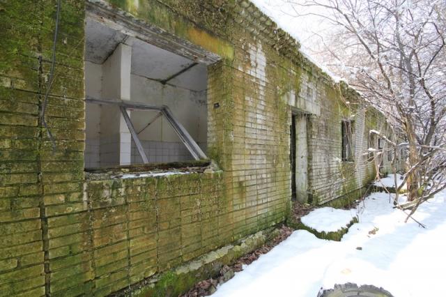 Grányitok a hóban: téli túra a császári szovjet laktanya területén#2