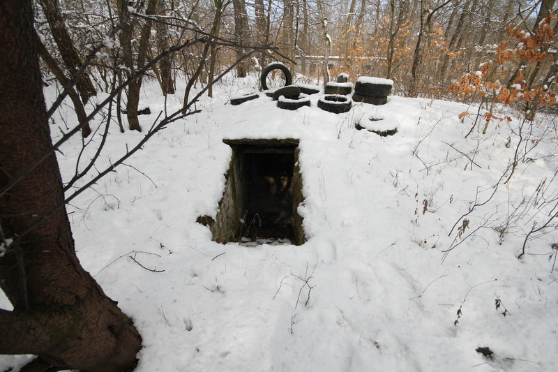Grányitok a hóban: téli túra a császári szovjet laktanya területén#6