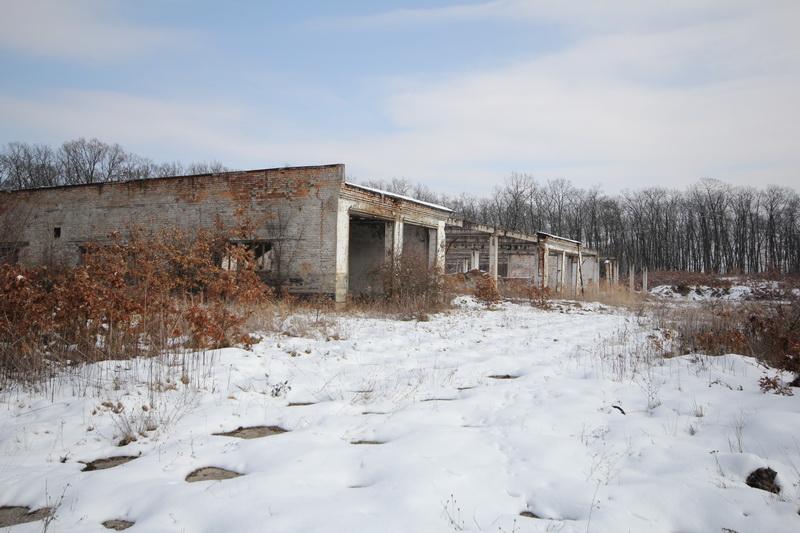 Grányitok a hóban: téli túra a császári szovjet laktanya területén#8