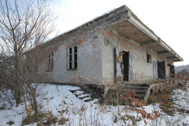 Grányitok a hóban: téli túra a császári szovjet laktanya területén#9