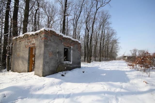 Grányitok a hóban: téli túra a császári szovjet laktanya területén#10