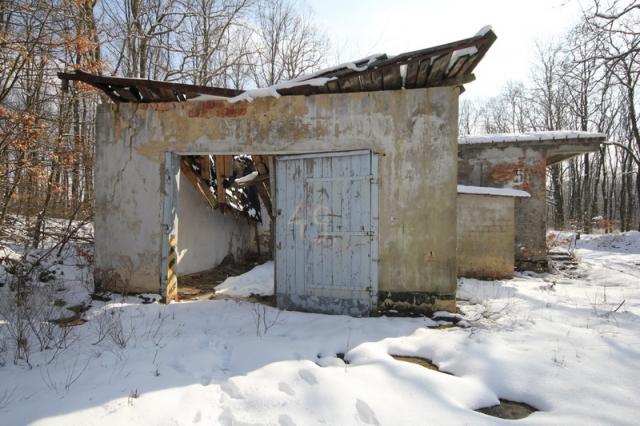 Grányitok a hóban: téli túra a császári szovjet laktanya területén#11