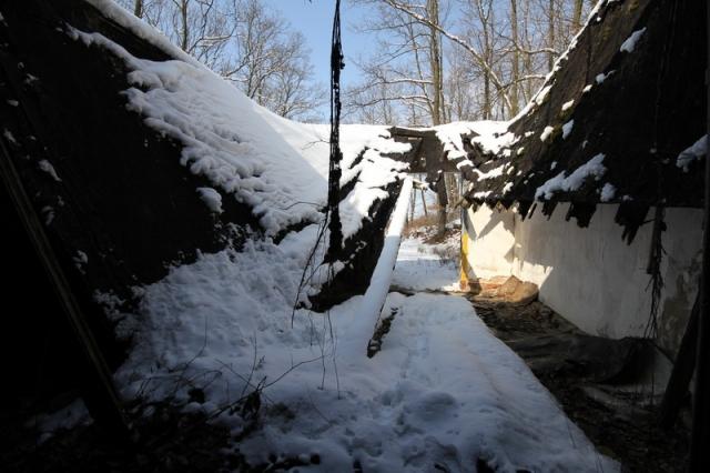 Grányitok a hóban: téli túra a császári szovjet laktanya területén#12