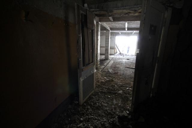 Grányitok a hóban: téli túra a császári szovjet laktanya területén#14
