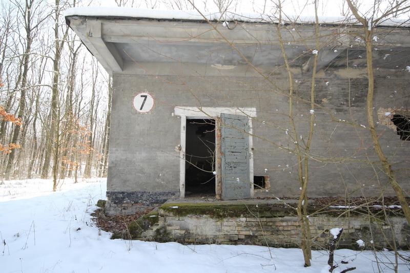 Grányitok a hóban: téli túra a császári szovjet laktanya területén#19