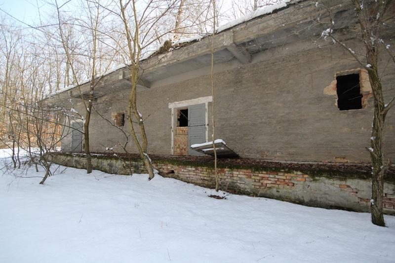 Grányitok a hóban: téli túra a császári szovjet laktanya területén#20