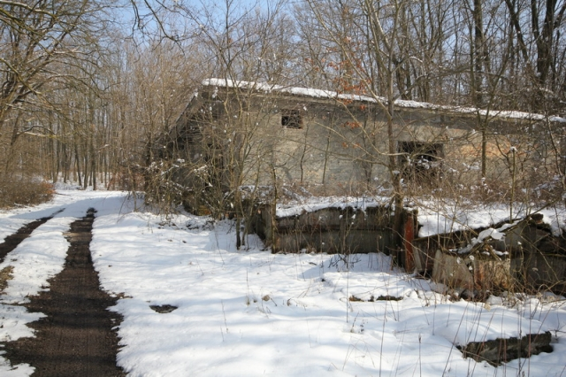 Grányitok a hóban: téli túra a császári szovjet laktanya területén#21