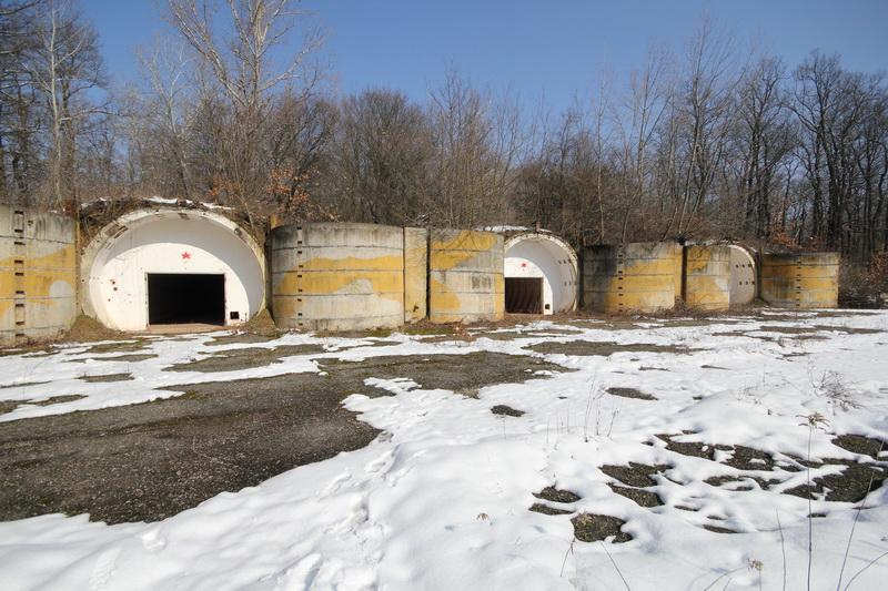Grányitok a hóban: téli túra a császári szovjet laktanya területén#25