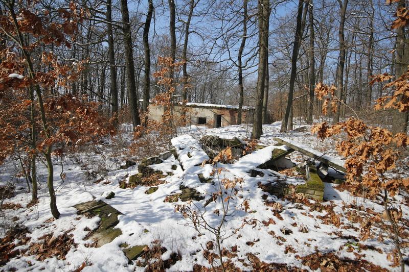 Grányitok a hóban: téli túra a császári szovjet laktanya területén#27