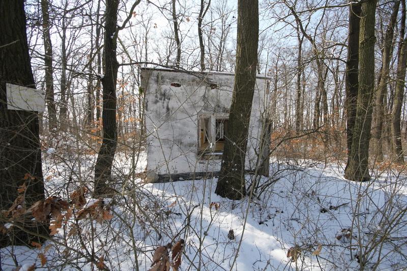Grányitok a hóban: téli túra a császári szovjet laktanya területén#28