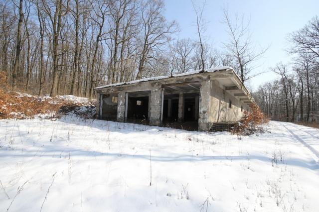 Grányitok a hóban: téli túra a császári szovjet laktanya területén#29