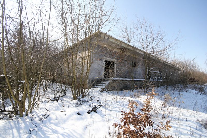 Grányitok a hóban: téli túra a császári szovjet laktanya területén#32