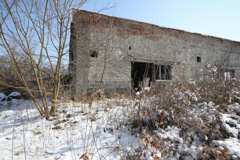 Grányitok a hóban: téli túra a császári szovjet laktanya területén#34