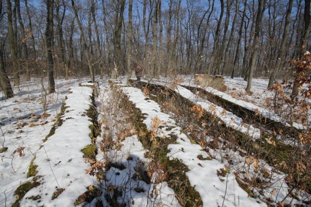 Grányitok a hóban: téli túra a császári szovjet laktanya területén#35