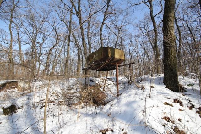 Grányitok a hóban: téli túra a császári szovjet laktanya területén#36