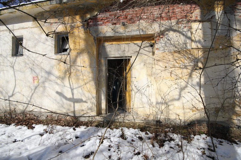 Grányitok a hóban: téli túra a császári szovjet laktanya területén#38