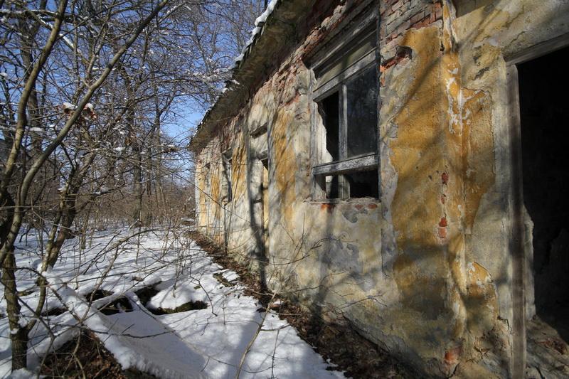 Grányitok a hóban: téli túra a császári szovjet laktanya területén#42