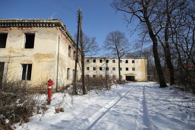 Grányitok a hóban: téli túra a császári szovjet laktanya területén#44
