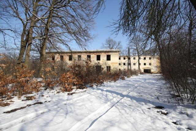 Grányitok a hóban: téli túra a császári szovjet laktanya területén#45