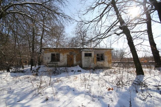 Grányitok a hóban: téli túra a császári szovjet laktanya területén#46