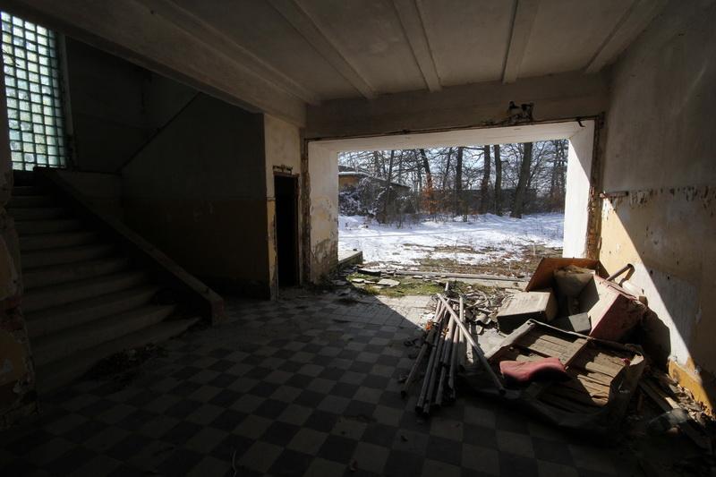 Grányitok a hóban: téli túra a császári szovjet laktanya területén#66