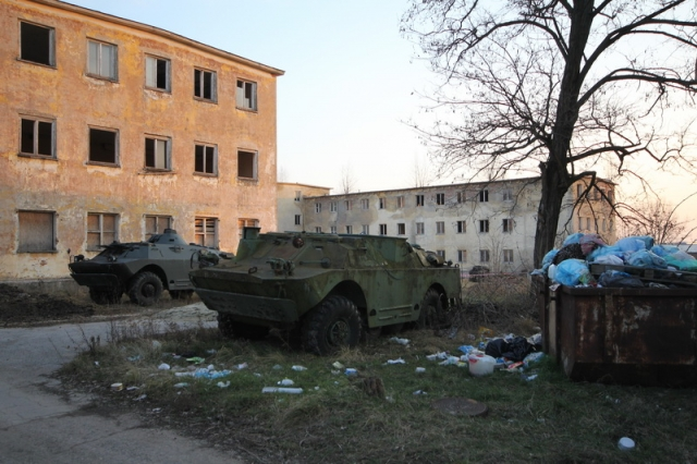 Baj, egykori szovjet laktanya #16
