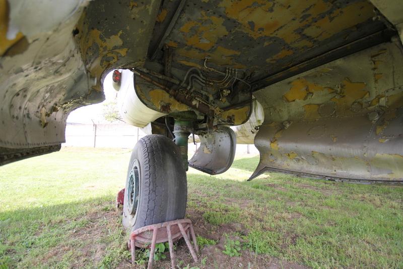 Az utolsó bombázó: a régi szolnoki repülőmúzeum Il-28-as repülőgépe#5
