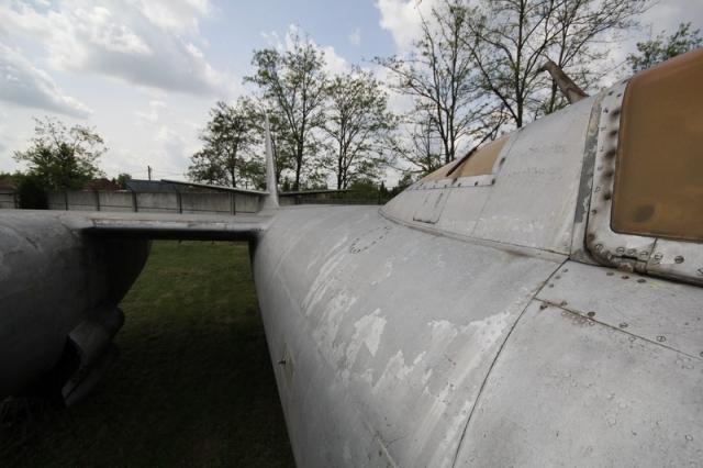 Az utolsó bombázó: a régi szolnoki repülőmúzeum Il-28-as repülőgépe#15