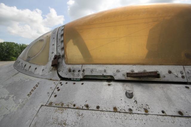 Az utolsó bombázó: a régi szolnoki repülőmúzeum Il-28-as repülőgépe#22