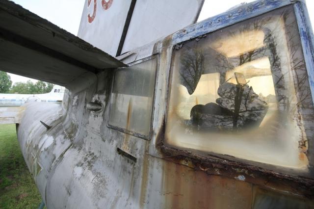 Az utolsó bombázó: a régi szolnoki repülőmúzeum Il-28-as repülőgépe#26