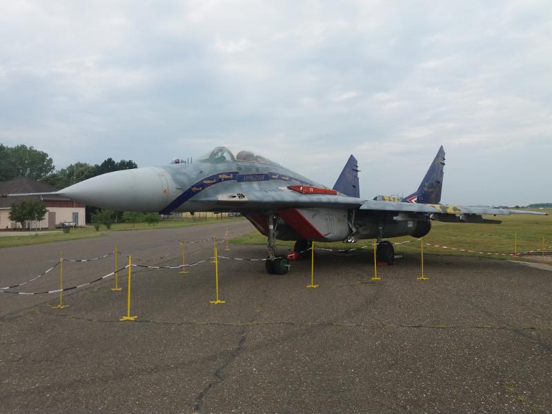"""Rácz Zsolt ezredes és a MiG-29 """"nagyvasak"""" méltó emlékezete#11"""
