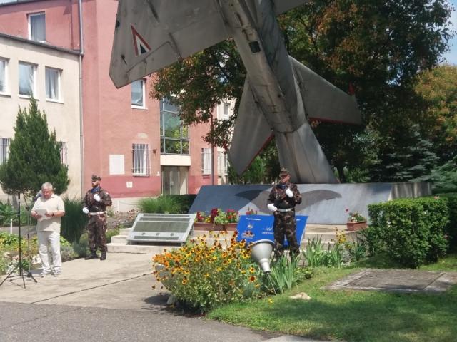 """Rácz Zsolt ezredes és a MiG-29 """"nagyvasak"""" méltó emlékezete#3"""