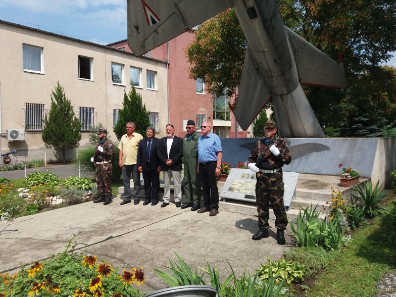 """Rácz Zsolt ezredes és a MiG-29 """"nagyvasak"""" méltó emlékezete#4"""