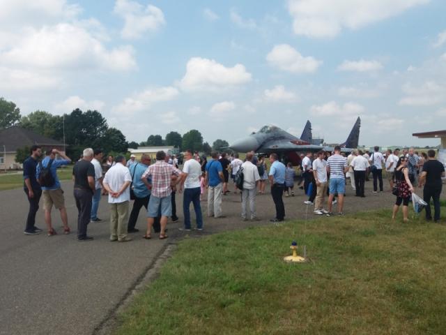 """Rácz Zsolt ezredes és a MiG-29 """"nagyvasak"""" méltó emlékezete#10"""