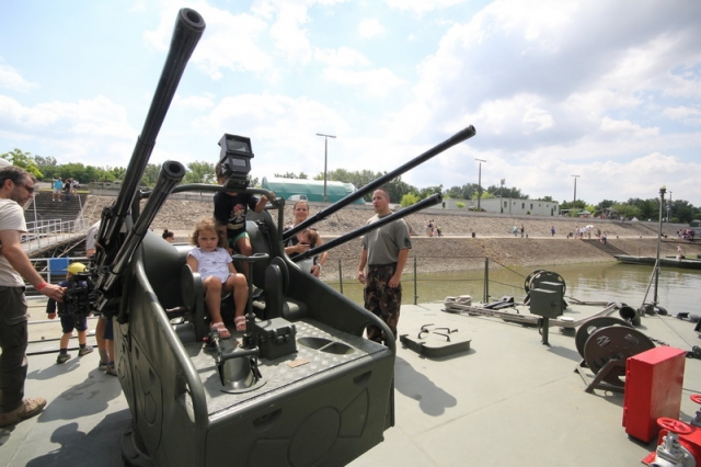 Az MH 1. Honvéd Tűzszerész és Hadihajós Ezred nyílt napja#21