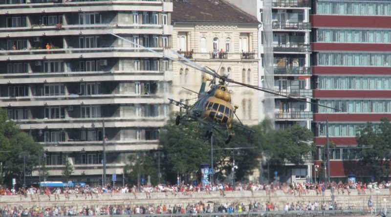 Augusztus 20., a vízparti légiparádék napja