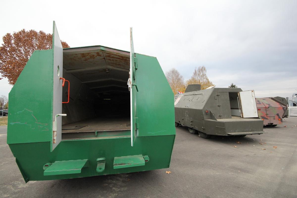 Az MCDR Vukovar haditechnikai gyűjteménye#2