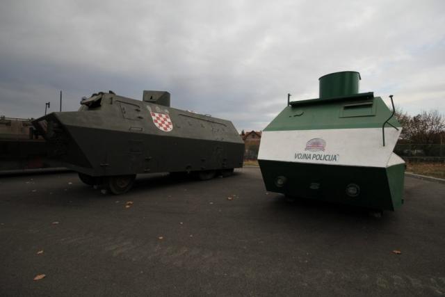 Az MCDR Vukovar haditechnikai gyűjteménye#1