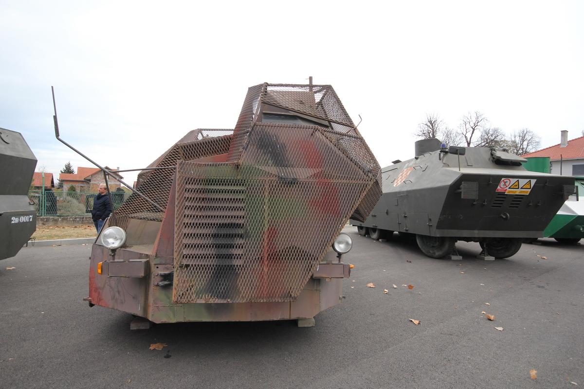 Az MCDR Vukovar haditechnikai gyűjteménye#5