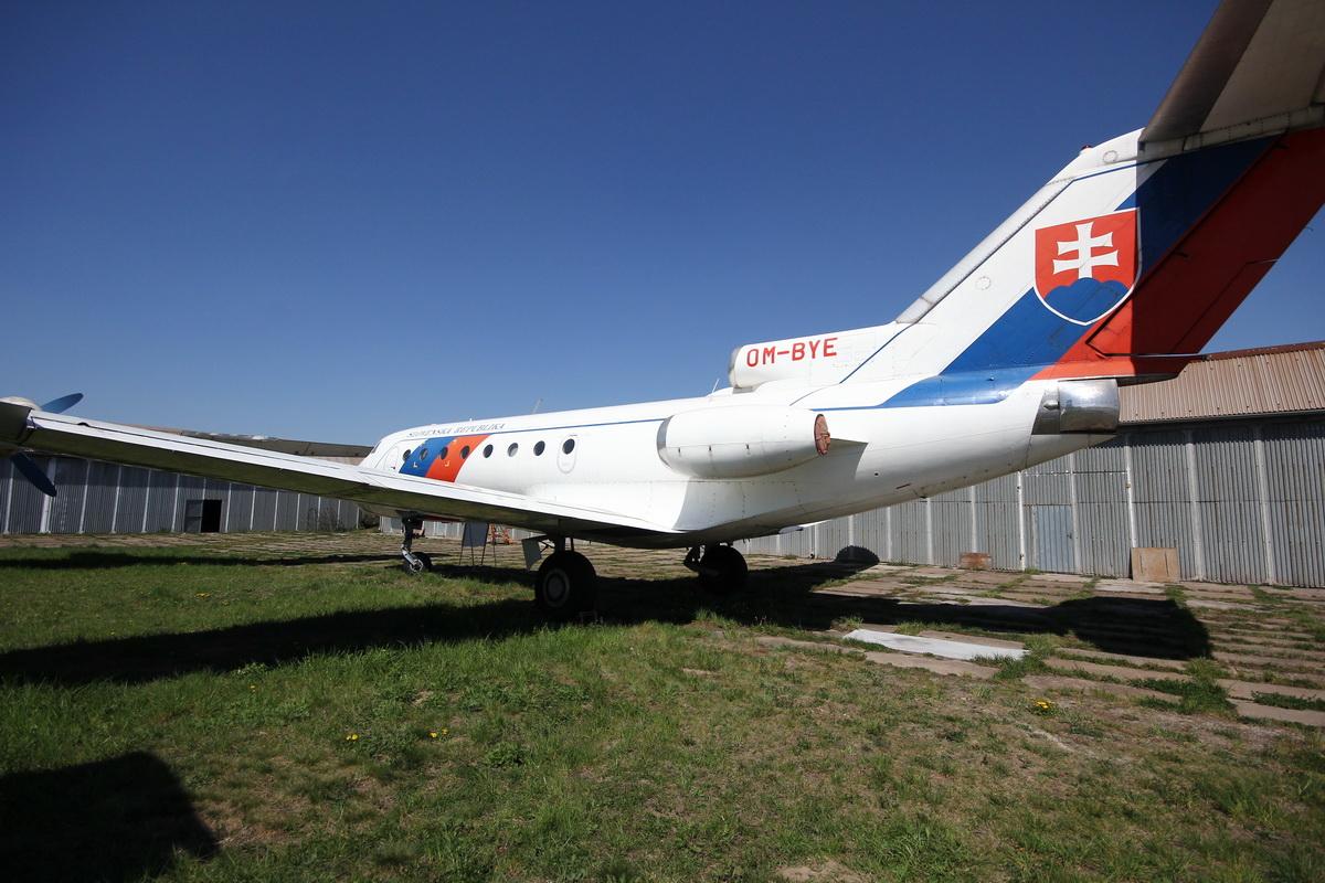 Az elnök gépei - bemutatkozik a Kassai Repülőmúzeum#22