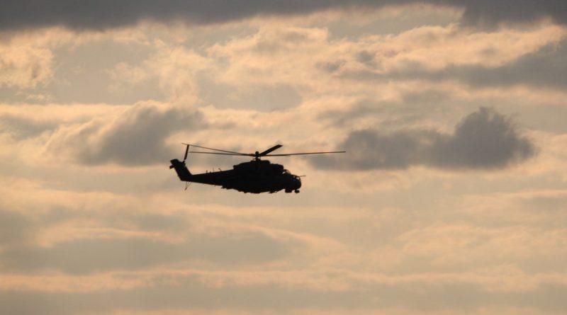 Történelmi Mi-24 éleslövészet a Bakonyban